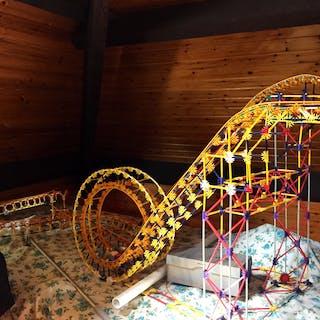 K'NEX Roller Coaster...