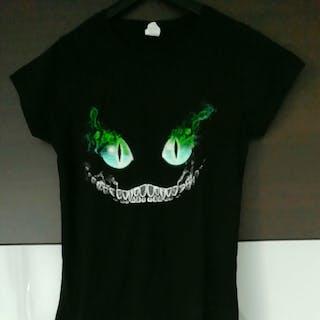 T-shirt Cheshire Cat...