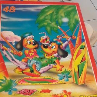 #puzzle 48 pièces.#j...