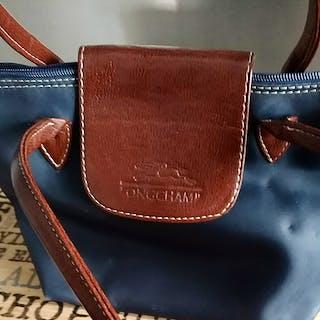 Sac Longchamp bleu m...