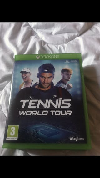 Tennis World tour et...