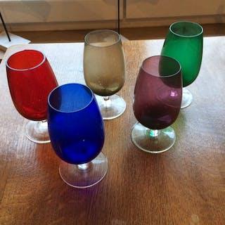 5 verres vintage #...